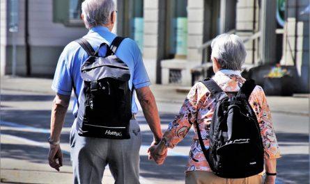 En route vers les jeux pour personnes âgées