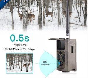 Caméra de chasse gsm
