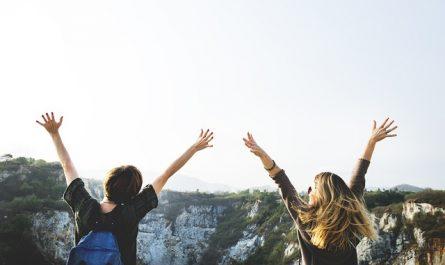 vacances entre adolescents