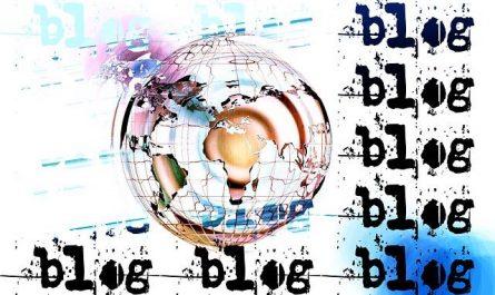 Un blog actualités visible sur Google