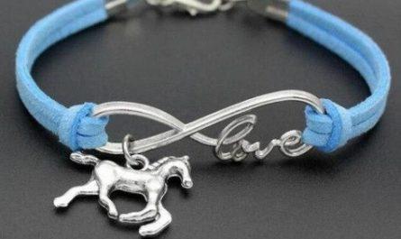 Bracelet cheval pour jeunes filles