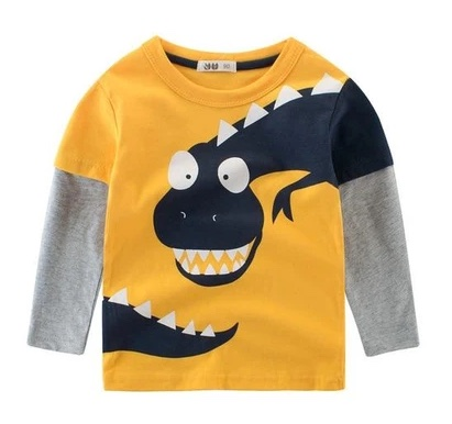 T-shirt dinosaure : le vêtement tendance pour votre enfant!